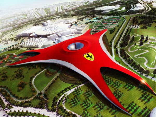 Ferrari World – world's largest indoor theme park – Abu Dhabi