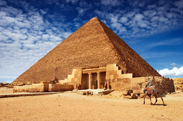 Great Pyramid Of Giza Khufu Cheops Egypt