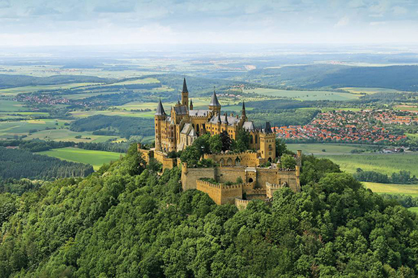 Hohenzollern Castle – Germany