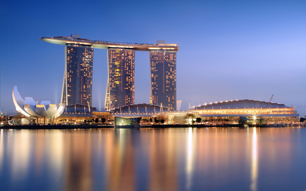 Marina Bay Sands – integrated resort in Singapore