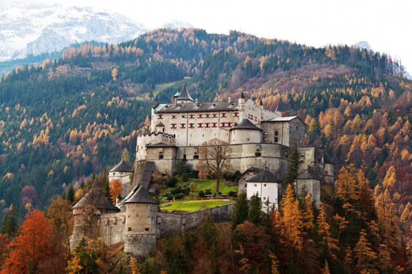 Captivating Hohenwerfen Castle in Salzburg – Austria