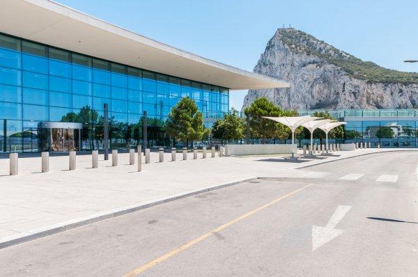 Gibraltar International Airport terminal