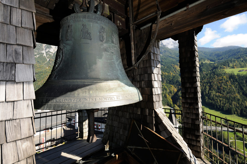 bell at hohenwefen castle